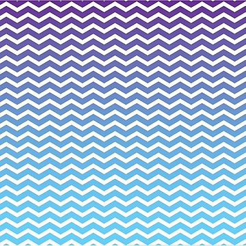 Diagonal geometric pattern purple and Blue by egrubbs
