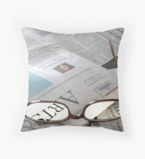 I can see clearly now... Throw Pillow