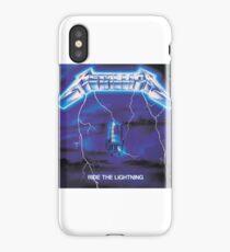 Metallica (Ride The Lightning) iPhone Case