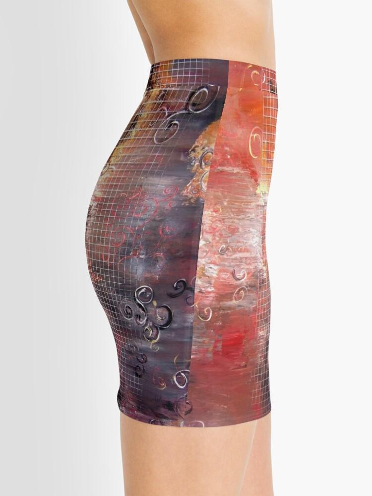 Alternate view of Unchain my... Mini Skirt