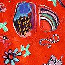 Snakes In The Garden by Rina Miriam  Drescher