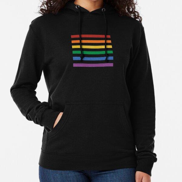 Pride Stripes Lightweight Hoodie