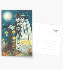 CEMETERY NUPTIALS Postcards
