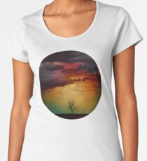 The Nebula Tree Women's Premium T-Shirt