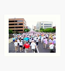 St. Louis Missouri Walk For The Cure!! Art Print