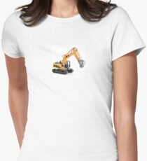 Excavator Women's Fitted T-Shirt