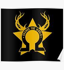 The Golden Elite - Change the World Poster