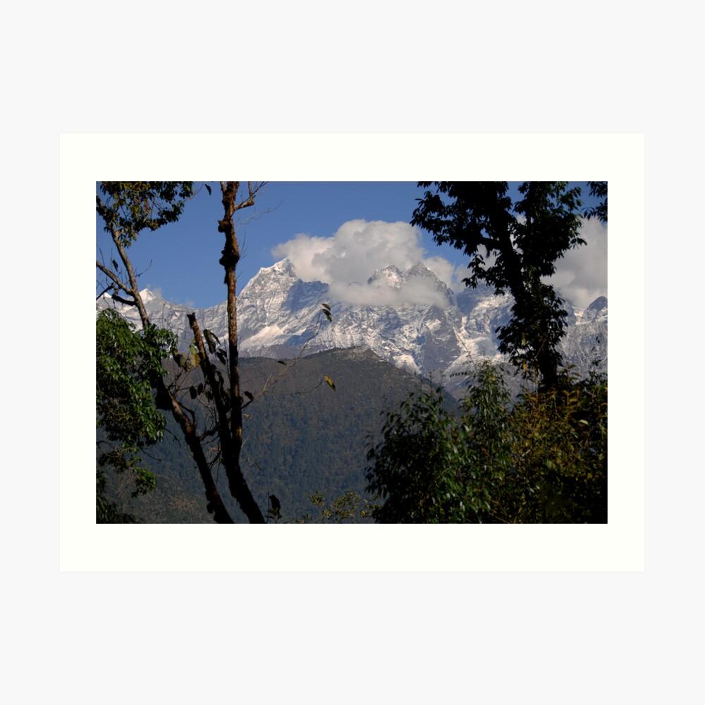 Nepal ~ trekking. Lámina artística