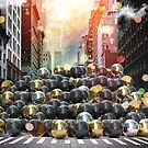 New York City Ball Pit by Vin  Zzep
