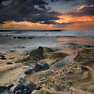 Kaena Point Shoreline #2 by David Orias