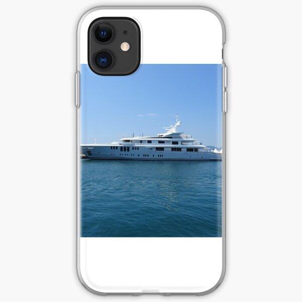 Cannes Luxury Yacht tranquil Mediterranean retreat iPhone Soft Case