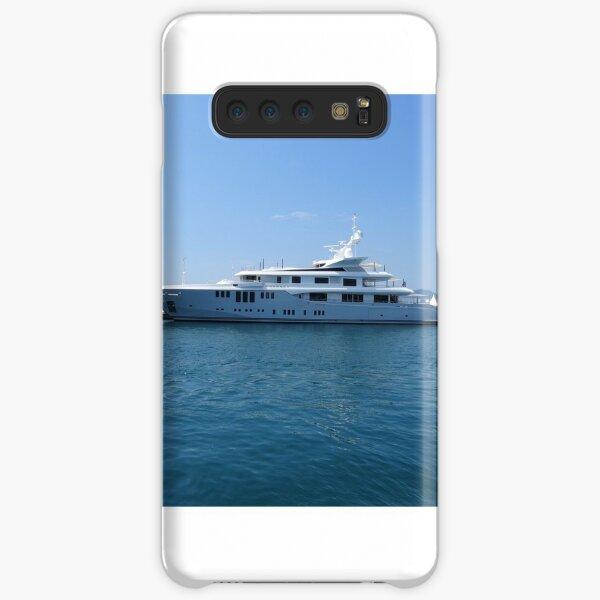 Cannes Luxury Yacht tranquil Mediterranean retreat Samsung Galaxy Snap Case