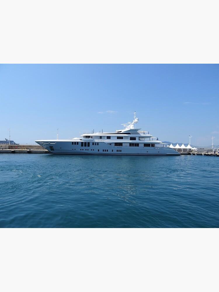 Cannes Luxury Yacht tranquil Mediterranean retreat by santoshputhran