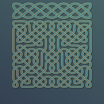 Celtic Knot decoration by symbioeco