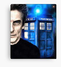 Twelfth Doctor Canvas Print