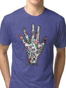 Hand Shandy Tri-blend T-Shirt