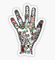 Hand Shandy Sticker