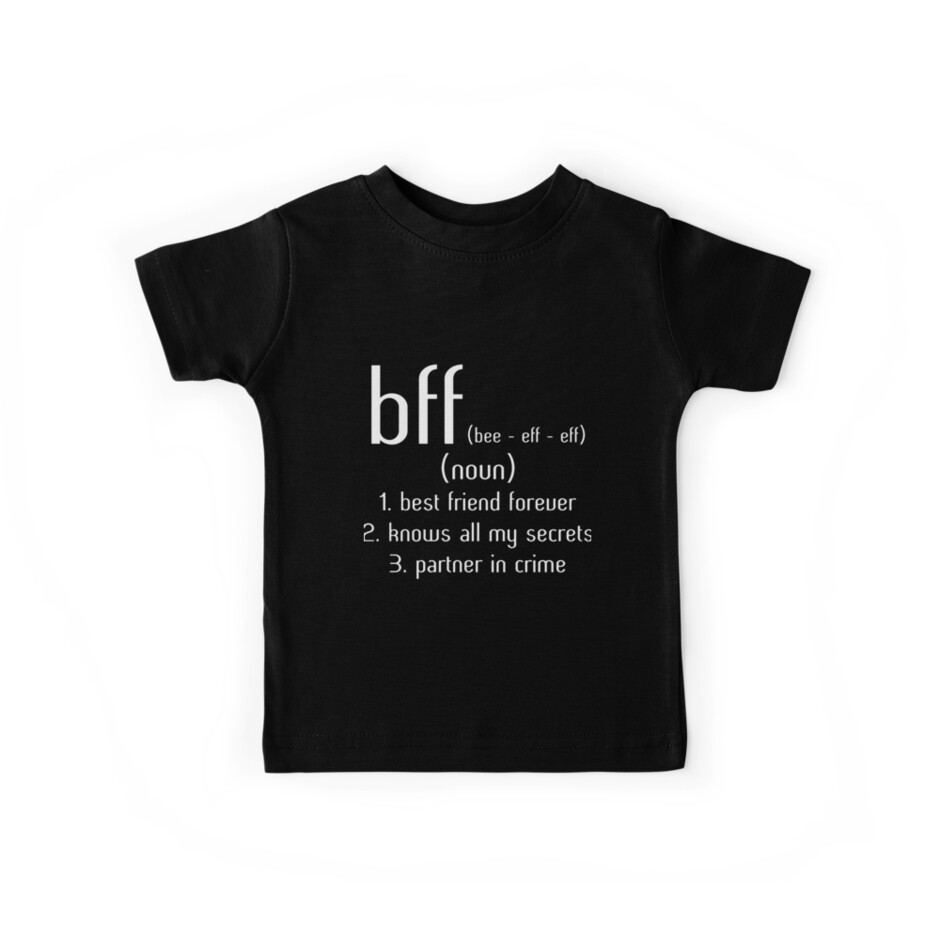 74e41a9a2 BFF best friend forever knows all my secret partner in crime best friend