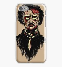 Edgar Allan Poe Zombie iPhone Case/Skin