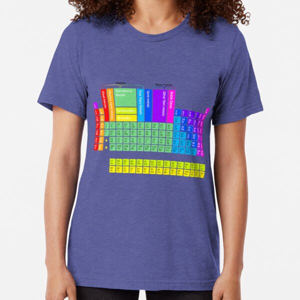 Rainbow Perry Tri-blend T-Shirt