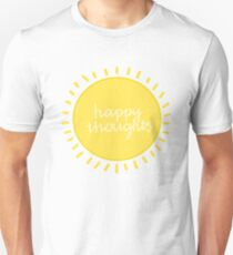 happy thoughts! Unisex T-Shirt