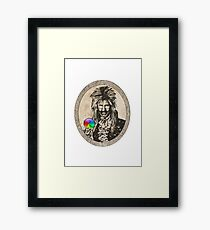 The Joblin King Framed Print