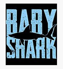 Baby Shark Funny Gift Photographic Print