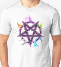 Elemental Pentacle - Pink Unisex T-Shirt