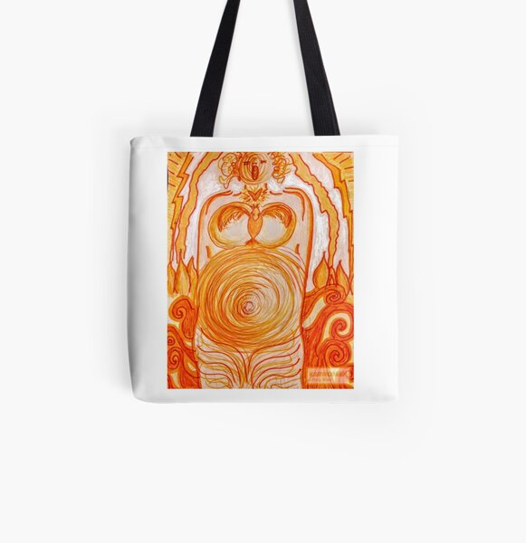 Radwoman ~ Fire Songs All Over Print Tote Bag