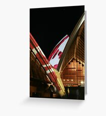 Opera Sails Greeting Card