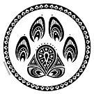 Paw Mandala by aunumwolf42