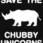 Speichern Sie die Chubby Unicorns von artvia