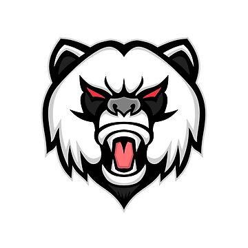 Angry Giant Panda Mascot by patrimonio