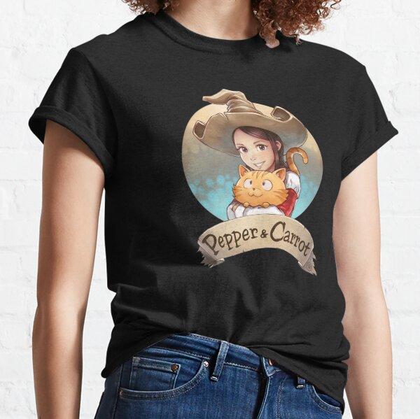 Pepper&Carrot official logo Classic T-Shirt