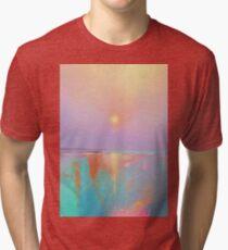 Coral Shores Tri-blend T-Shirt