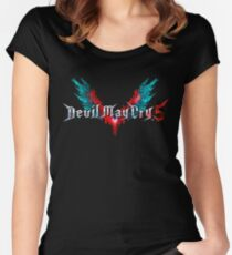 DMC 5 Fitted Scoop T-Shirt
