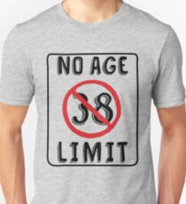 No Age Limit 38th Birthday Gifts Funny B Day For 38 Year Old Unisex T
