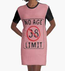 abd45f2b No Age Limit 38th Birthday Gifts Funny B-day for 38 Year Old Graphic T