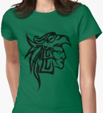 Aztec Eagle Warrior Women's Fitted T-Shirt