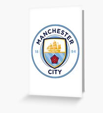 The Manchester City T Shirts Greeting Card