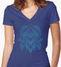 ornament Women's Fitted V-Neck T-Shirt