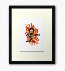Doctor Four Framed Print