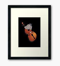Sherlock Holmes' Hat and Violin Framed Print