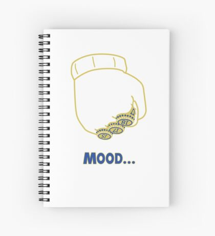 Draymond Green [Warriors Championship Mood Edition] Spiral Notebook