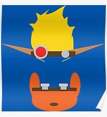 Jak & Daxter - Minimal Design Poster