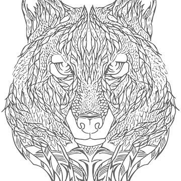 Wolf by FayeLangoulant