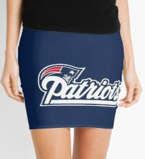 The New England Patriots Mini Skirt