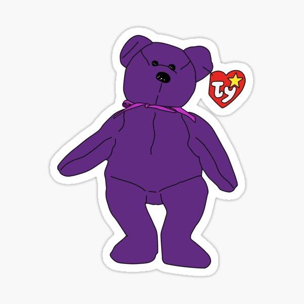 Beanie Baby Sticker