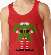 Elf Costume for Carnaval Christmas Halloween Party Tank Top