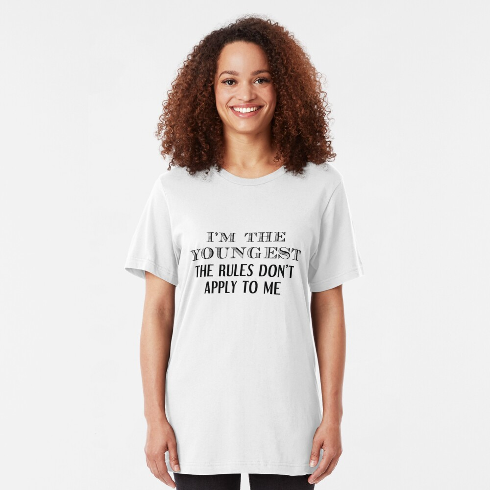 I'm The Youngest Slim Fit T-Shirt